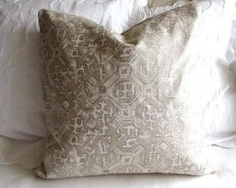 Nomad Chalk fabric decorative Pillow Cover 18x18 20x20 22x22 24x24 26x26