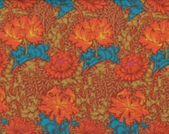 Kaffe Fasset Fabric Winding Floral Rust
