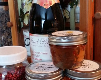 Pink Peppercorn Champagne Jelly