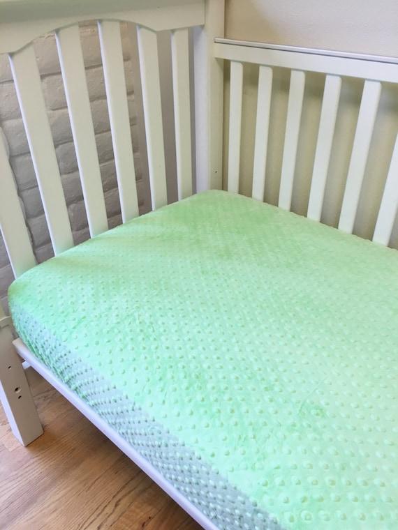 green crib sheets boy bedding crib bedding light lime minky. Black Bedroom Furniture Sets. Home Design Ideas