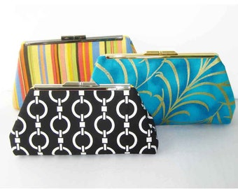 CLEARANCE SALE - Ready to Ship - Modern Clutch - Pick ONE