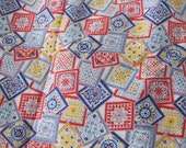 Vintage Cotton Quilting  Fabric, 1/2 Yard
