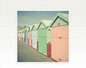 SALE 20% OFF Beach Hut Art, Architecture Photography, Seaside Decor - By the Sea