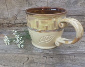Mug, earthy, botanical, herbal, neutral