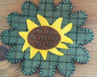 Sunflower Pennyrug
