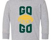 GO PACK GO, Kids, longsleeve T-shirt 2T-5/6