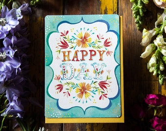 Happy Day - Greeting Card