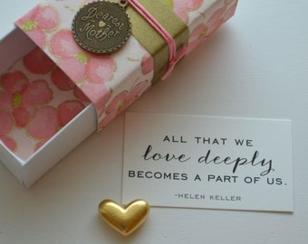 Dearest Mother Message Box and Gift Bag for Birthday or Thinking of You