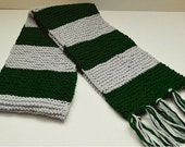 FINAL CLEARANCE Slytherin House Scarf - First Edition