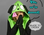 GIR from Invader Zim Costume Hoodie - Made to Order