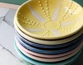 Porcelain sea urchin bowl, one bowl choose your color