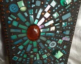 Small Mosaic Art Burst series piece