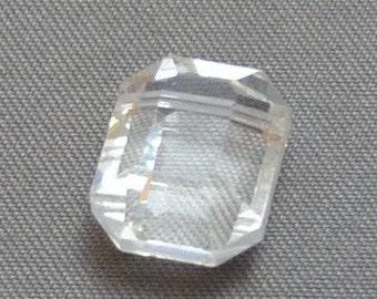 Vintage Swarovski Article 5105 Emerald Cut Crystal 12mm (2)