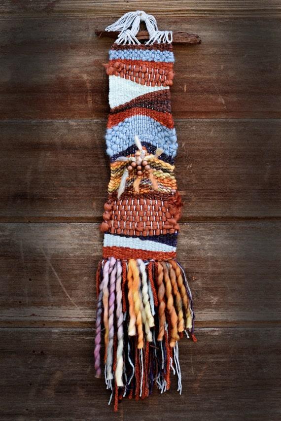 Tapestry Central-skinny orange, blue, brown