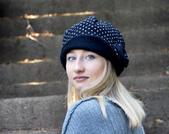 Felt Hat Felted wool hats Womens winter hats Felt hat for women unique felt hat Felt hats Women's wool hat Unique Gift Felted Hat Art Hat