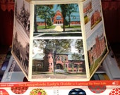 Dartmouth College Lampshade, Lamp Shade of Vintage Postcards, 7x10x7 high clip top - Alumni Gift - Graduation Gift - Hanover, NH