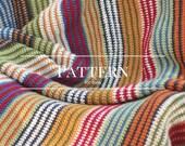 Easy Crochet afghan pattern