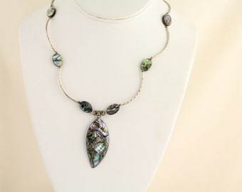 Abalone Necklace. Listing 454256622