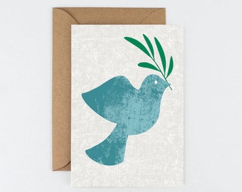Dove of Peace Christmas Card