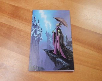 Upcycled Note Pad Disney Malecifent