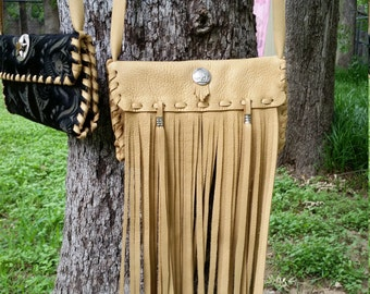 Fringed Wallet Purse