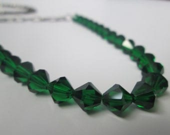 Long Swarovski Crystal Necklace
