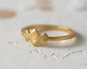 14k Gold Tulum Ring, Thin Wedding Ring, Delicate Wedding Band, Simple Wedding Ring, Stackable Ring, Everyday Ring, Anniversary Ring