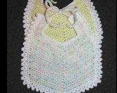 Crochet Baby Bib Pattern - PDF Pattern 115 - Instant Download