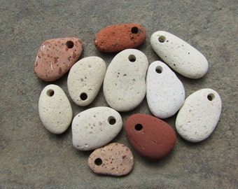 Beach Brick CHARMS Brick Pendants