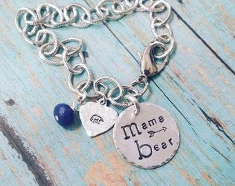 Mama Bear Charm Bracelet