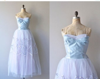 25% OFF.... Bel Canto dress | vintage 1950s dress • strapless 50s party dress