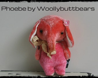 Sold/Reserved Phoebe by Woollybuttbears 3.5 inches