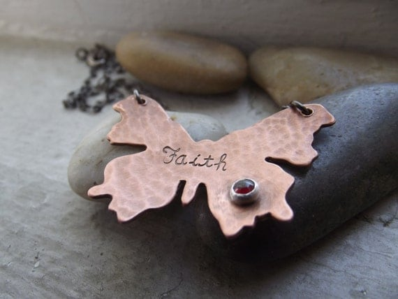 Butterfly pendant  Ready to ship, Inspirational Jewelry, Inspirational gift, Graduation gift, BFF gift, Butterfly necklace