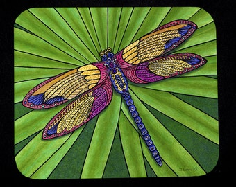 Dragonfly Mousepad for computers
