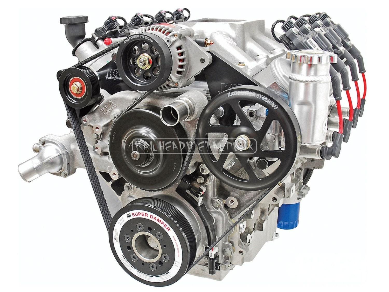 Chevy Modular Engine Gm Modular Smallblock Eight Cylinder