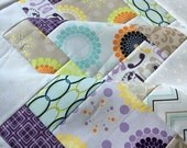 Unfinished baby sized quilt top - Riley Blake - Ashbury Heights by Doohikey Designs  - 38 in x 38 in