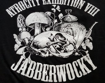 Morose & Macabre's Atrocity Exhibition 2016 tee - MEDIUM