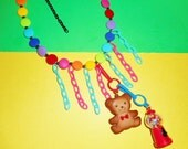 Bear Flare Necklace