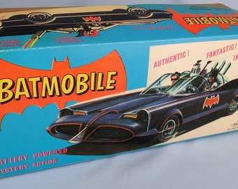 BOX ONLY for the ASC battery operated Batmobile