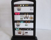 jewelry EARRING RACK, Earring holder,  jewewlry storage/display earring stand, jewelty tree, TALL accessory display