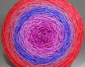 Original size - 100g Sock Garden Party Cake - Hand Painted Gradient Yarn