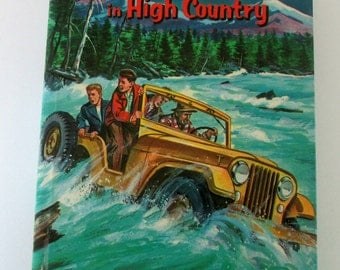 Vintage 1960 Book The Walton Boys in High Country by Hall Burton Whitman Publishing