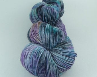 NEW Yarn of Letters - Jest Sparkle 2ply Merino/Nylon/Stellina Sock - Magic Mike Moment