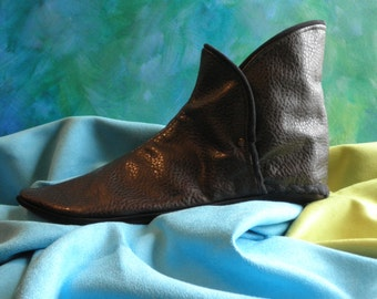 Medieval Dress Boot for Shakespeare Custom Made to Measure NBV2 Verona Brown
