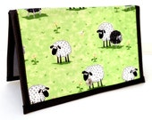 Knitting Crochet Pattern Holder - miPattern Wallet Chart Keeper -  Baa Baa Black Sheep