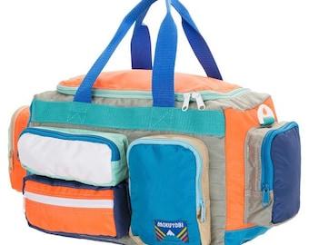 Camp Bag Neon Orange/Mint