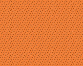 COUPON Code Sale - Happy Haunting, Spider, Orange, Deena Rutter, Riley Blake Designs, 100% Cotton Quilt Fabric, Halloween, SELECT A SIZE