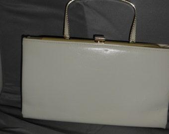vintage Ande bone color small purse