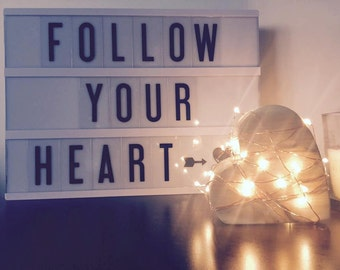 Wooden Heart Light