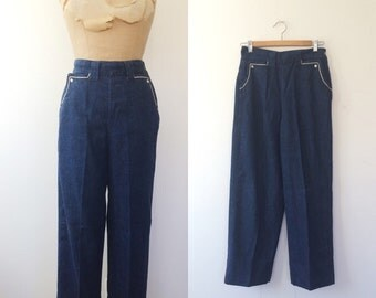 1950s jeans / vintage denim / Anyone Can Whistle jeans